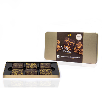 Six-pack steelbox almond dreamers dark