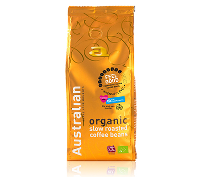 Coffee beans slowroast Feel Good UTZ organic