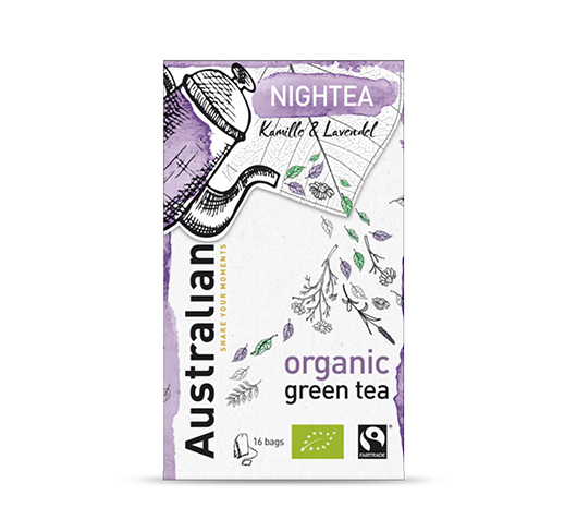 Green tea Nightea 16 x 1,6 gram fairtrade organic